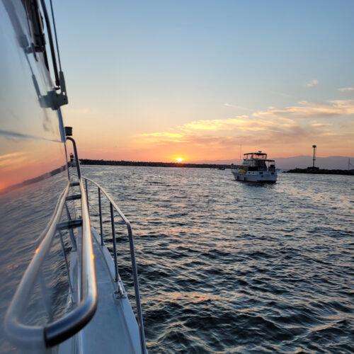 sunset yacht charter santa monica